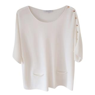 Gerard Darel Ecru Knit Top