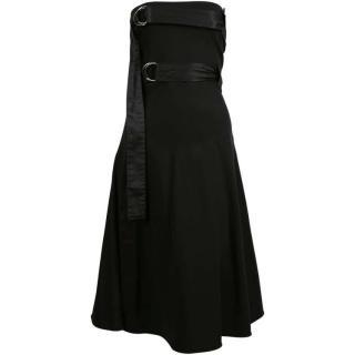 Celine by Phoebe Philo Strapless Skater Dress