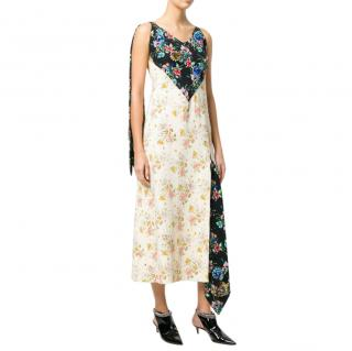 Christopher Kane Floral Print Archive Tie Dress