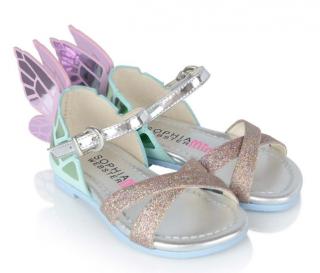 Sophia Webster Mini Glitter & Pastel Chiara Sandals