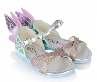 Sophia Webster Mini Glitter & Pastel Chiara Sandals