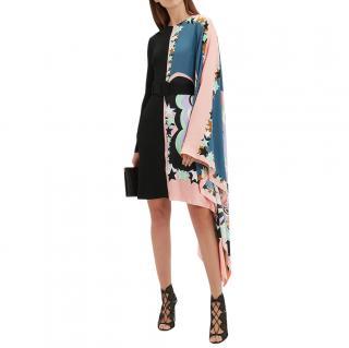 Emilio Pucci asymmetric kaftan dress