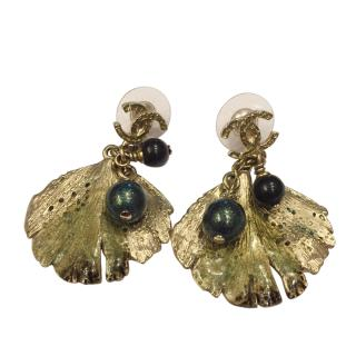 Chanel Sea Shell Earrings