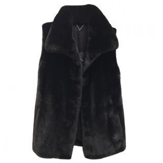 Blackgama Black Mink Bespoke Fur Gilet