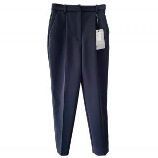 Alexander McQueen Navy Tailored Pants
