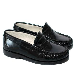 Papouelli black jago unisex loafers