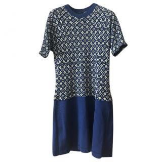 Louis Vuitton Cashmere Knit Logo Dress