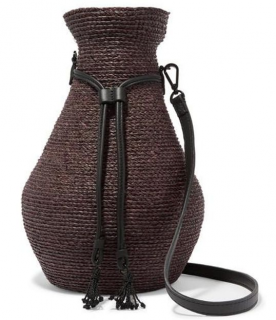Albus Lumen + Helen Kaminski Brown Figura Shoulder Bag