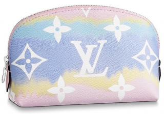 Louis Vuitton Limited Edition Cosmetic Pouch Escale Pastel SS2020