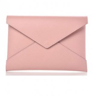 Louis Vuitton rose poudre �pi clutch