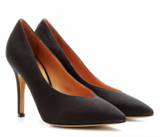 Isabel Marant Black Prissy Canvas Pumps