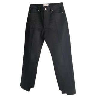Frame Nouveau Le Mix straight leg jeans
