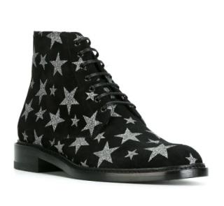 Saint Laurent Lolita 20 lace-up ankle boots