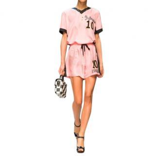 Dolce & Gabbana Italia Silk Shorts