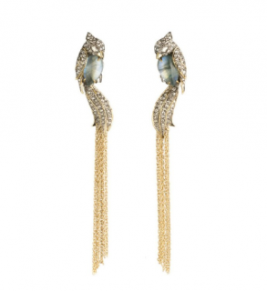 Alexis Bittar Lovebirds Crystal Drop Earrings