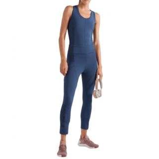 Fendi Blue Sport Stretch Leggings