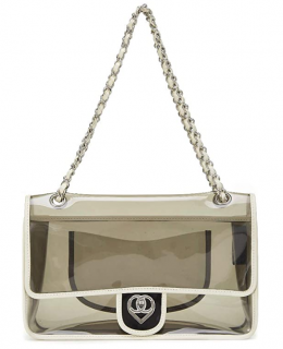 Chanel Valentines Collection Tinted Vinyl Flap Bag