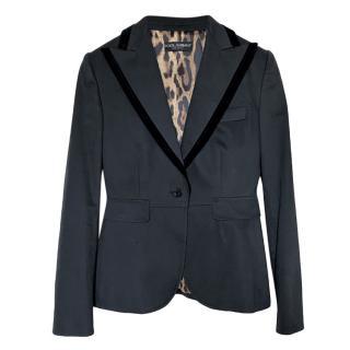 Dolce & Gabbana Black Tailored Jacket