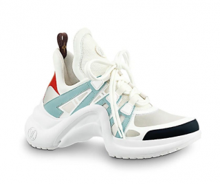 Louis Vuitton Calfskin Technical Nylon LV Archlight Sneakers