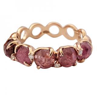 Giovanni Ferraris Mon Minu Pink Tourmaline Ring