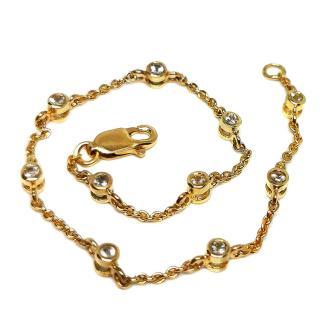 Bespoke Topaz Yellow Gold Bracelet