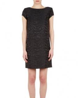 Saint Laurent Jacquard Black Dress