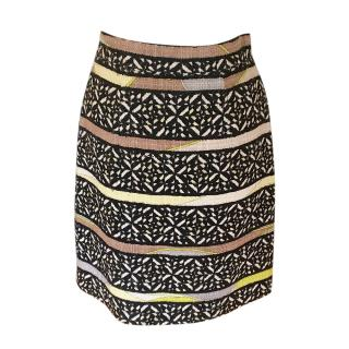 Pucci vintage patterned wool skirt