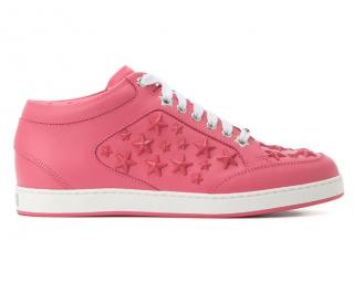 Jimmy Choo Pink Miami Star sneakers