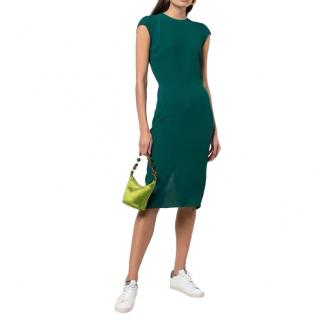 Reformation emerald green Maren midi dress