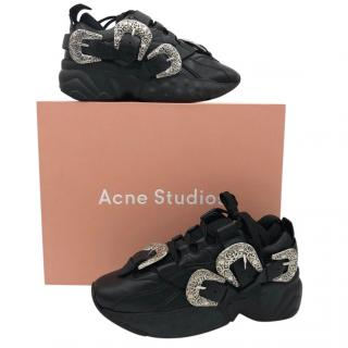 Acne Studios women's embellished sneakers