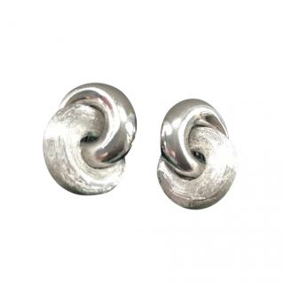 Christian Dior Vintage Infinity Earrings