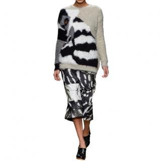 Max Mara Intarsia Knit Lemur Jumper