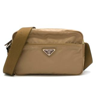 Prada Nylon Crossbody Messenger Byron Bag