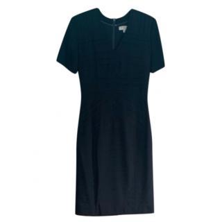 Burberry Black Tailored Knee-Length Dress