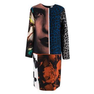 Paul Smith multi-print shift dress