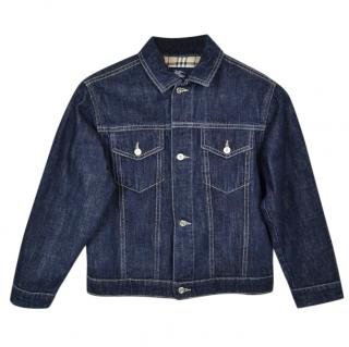 Burberry kids 8yrs denim jacket