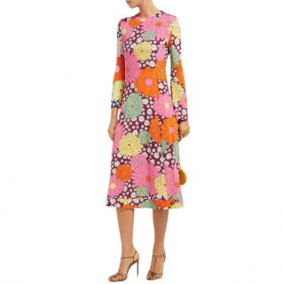 Dodo Bar Or Multi Colour Remmy Floral Midi Dress