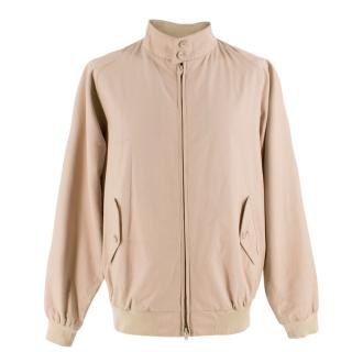 Baracuta G9 Beige Harrington Zip Up Jacket