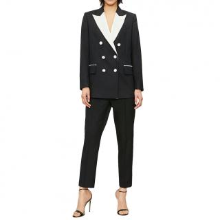 Racil double-breasted blazer & tapered-leg wool suit