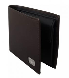 Dolce & Gabbana Dark Brown Bi-Fold Wallet