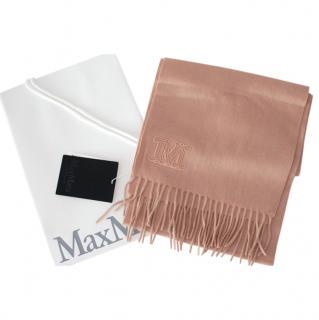 MaxMara camel cashmere shawl/scarf