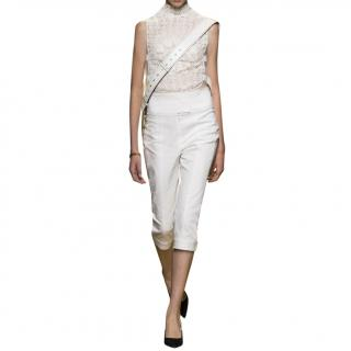 Dior Goat Leather Capri Pants