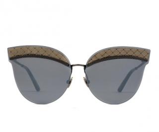 Bottega Veneta Cat-Eye BV0101S Sunglasses