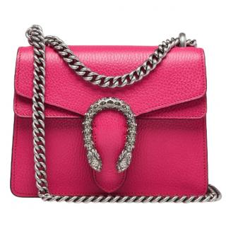 Gucci Pink Crystal Mini Dionysus