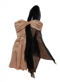 Faith Connexion One Shoulder Tulle Silk Mini Dress