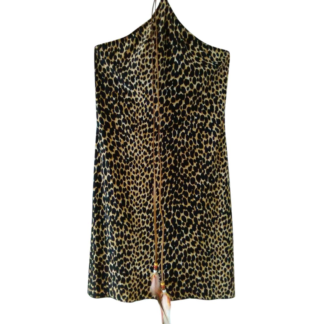 Dolce & Gabbana Beachwear Leopard Print Cover-Up