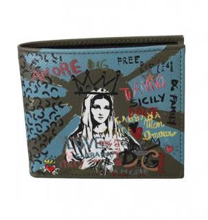Dolce & Gabbana Sicily Maria Bi-Fold Wallet