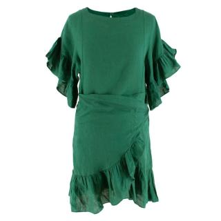 Isabel Marant Etoile Green Delicia Dress