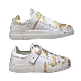 Nicholas Kirkwood Paint Splash Pearlogy Sneaker
