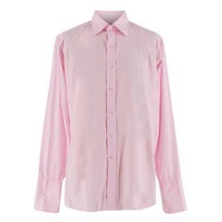 Kilgour Pale Pink Cotton Shirt